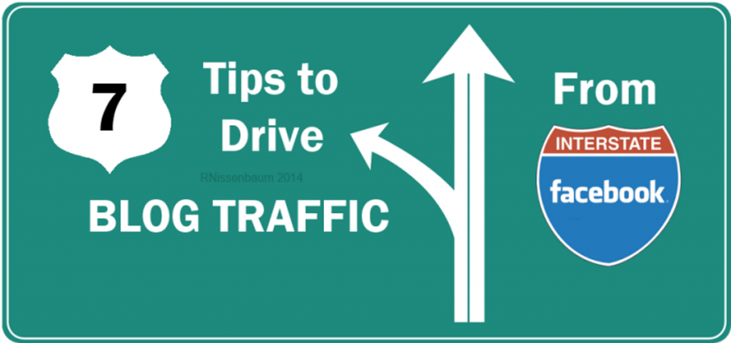 The Blog Traffic Commute: 7 Ways to #BeTactical and leverage #Facebook to drive blog traffic