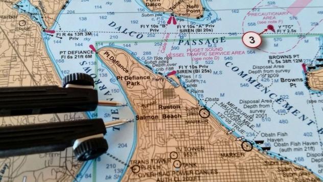 Puget Sound Tactical Nautical Chart