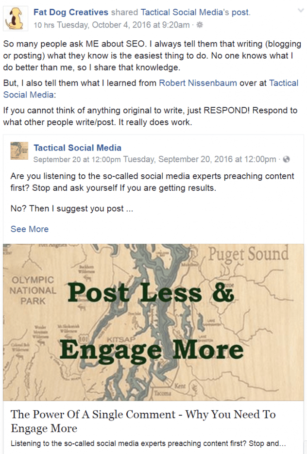 How you post and share content matters if you want to see results