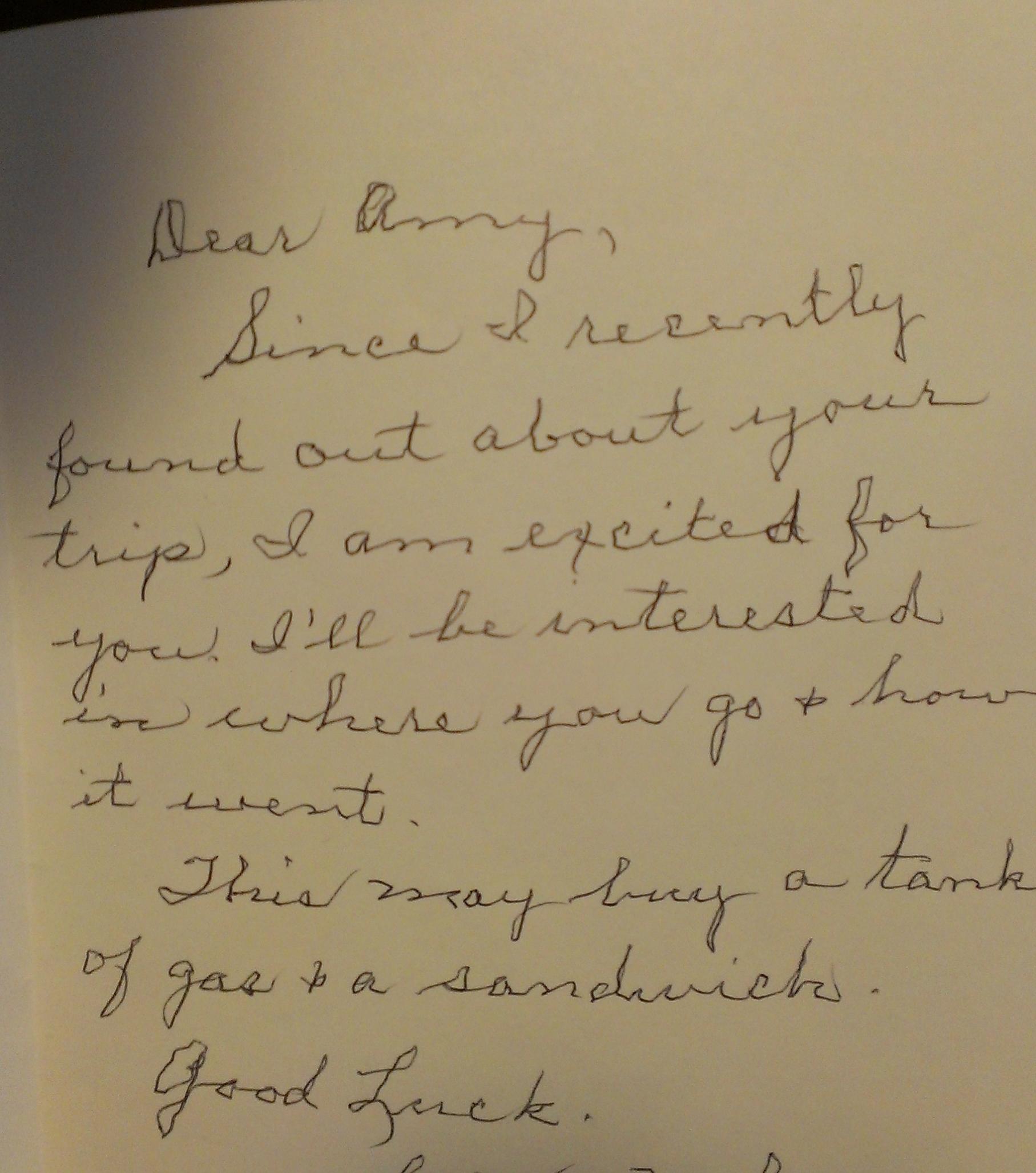 LaVon's card